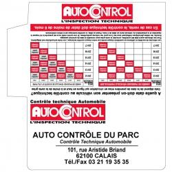 AUTOCONTROL - Pochette -...