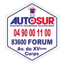 AUTOSUR - Autocollant -...