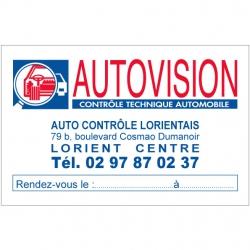 AUTOVISION - Carte de...