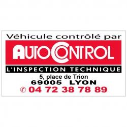 AUTOCONTROL - Autocollant -...