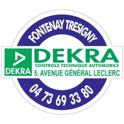 DEKRA - Autocollant - Modèle A