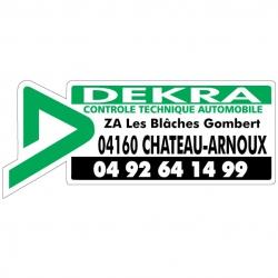 DEKRA - Autocollant - Modèle B