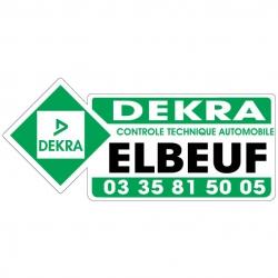 DEKRA - Autocollant - Modèle C