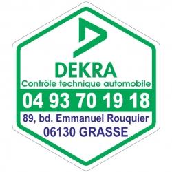 DEKRA - Autocollant - Modèle D
