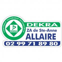 DEKRA - Autocollant - Modèle E