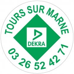 DEKRA - Autocollant - Modèle F