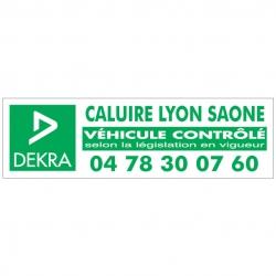 DEKRA - Autocollant - Modèle H