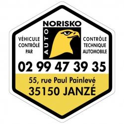 NORISKO - Autocollant -...