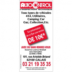 AUTOCONTROL - Flyer